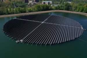 Floating Solar floating solar panels