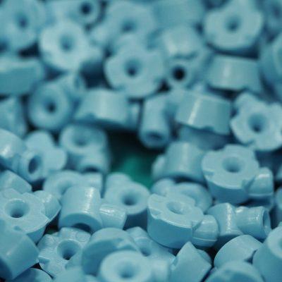 cilinder blauw
